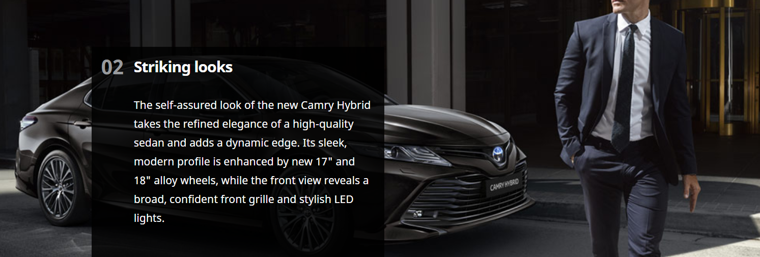 Return of the Camry - Now as a Self Charging Hybrid