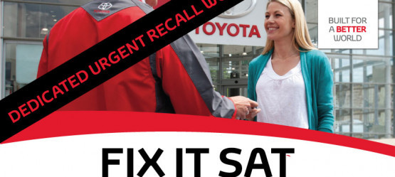 FIX IT SAT 11th MAY- Dedicated to Urgent Safety Recall Work